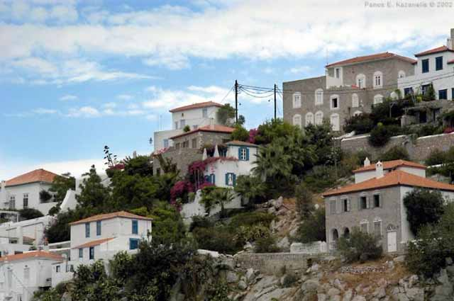 Traditional Hydra houses -