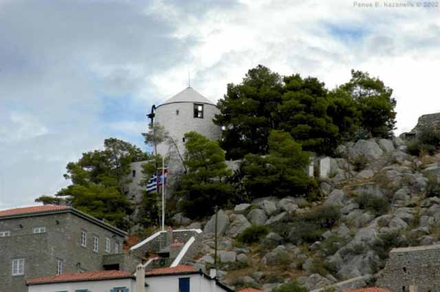HYDRA PHOTO GALLERY - Windmill in Hydra