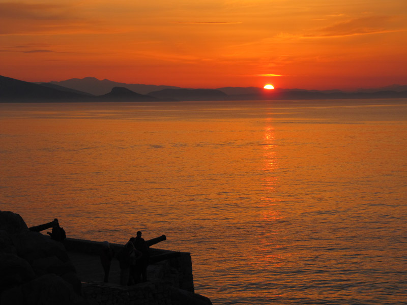 Hydra Sunset -