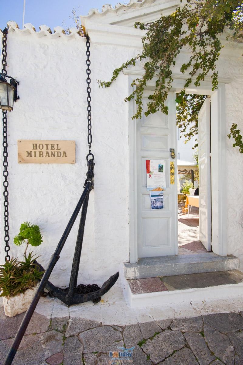MIRANDA HOTEL  HOTELS IN  Hydra